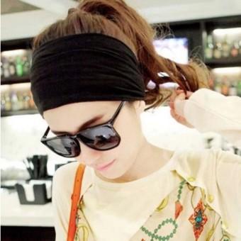 REVIEW Versi Korea dari olahraga dan kebugaran bertepi lebar ikat kepala yoga karet rambut TERBAIK