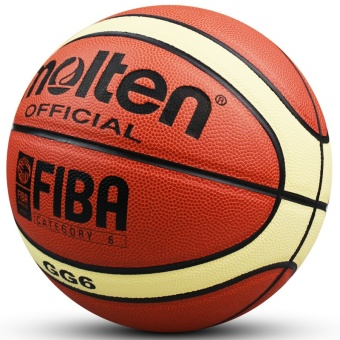 Women Basketball Genuine Molten GG6 Basketball Ball PU MateriaOfficial Size6 Basketball Free with Net Bag+ Needle+Pump - intl - 2