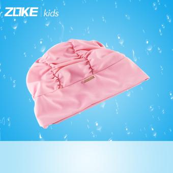 JUAL Zoke merajut warna solid Gadis dengan rambut panjang topi renang topi renang topi renang topi renang TERPOPULER