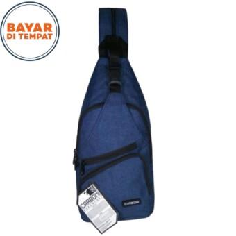 Carboni Waistbag Ransel Tali Satu AA00023 - 10 Dobel Fungsi - Blue