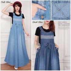 ... 168 Collection Dress Celine Overall Jeans Biru Tua Daftar Update Source 168 Collectian Dress Maxi Jeans