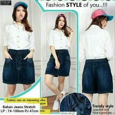 168 Collection Jaket Maria Jumbo Jeans Biru Daftar Update Harga Source 168 Collection Celana Jumbo Hotpant