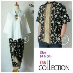 Atasan Blouse Sand Batwing Dan Rok Lilit Batik Mocca Jual Blouse & Kemeja Wanita 168 Collection