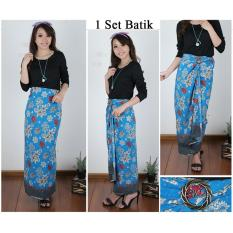 ... 168 Collection Rok Maxi Lilit Batik Alina Rok Panjang Wanita