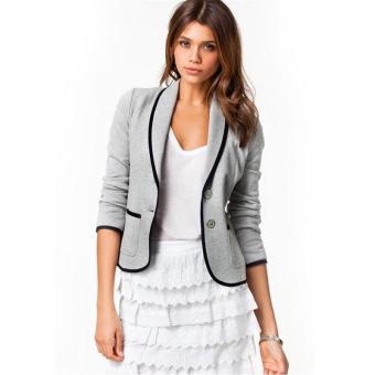 2017 New Spring Women Clothes Women Blazer Long Sleeve Women Blazer Single Breasted Fashion Casual Small