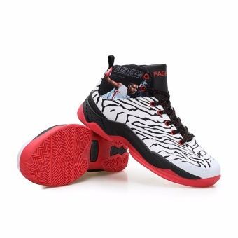 Spring and summer new basketball shoes male non-slip high help basketball shoes  sports shoes 185197489b
