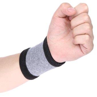 2Pcs Mudah Dicuci Wrist Elastis Unisex Guard Band - 2