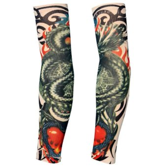 ... Palsu Shopee Source · sementara lengan tato stoking W36 Source 2Pcs Tattoo Sleeves Long