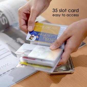 35 Slot PREMIUM Wallet / Dompet Kartu ATM / credit card OR 91-01 .