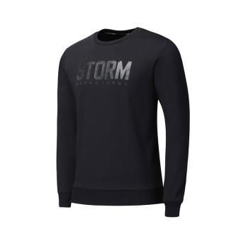 Harga 361 kasual musim gugur pria leher bulat pullover sweater (Karbon hitam) Ori
