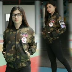 3K Fashion USA Bomber Army - Despo Tebal