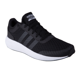 Adidas Cloudfoam Race Men's Shoes - Core Black / Core Black / Running White Ftw