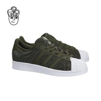 Beli Adidas Superstar Glitter Mesh Retro Shoes Night Cargo / Night Cargobb0314 - intl Terpercaya
