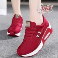 Airmax V-3 Merah - Sepatu Jalan cewe V-3 Merah Airmax