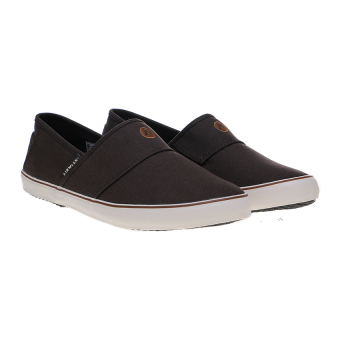 Airwalk Jay Slip On Sepatu Sneakers - Dk Brown - 5