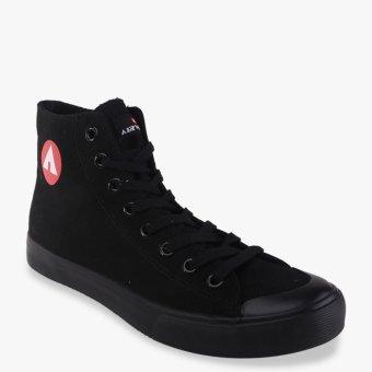 Airwalk New Basic Canvas Men's Sneakers Shoes - Black - 2