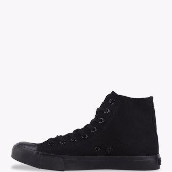 Airwalk New Basic Canvas Men's Sneakers Shoes - Black - 4