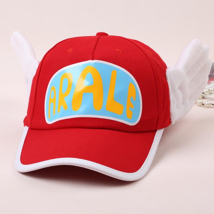 Ala Lei matahari naungan anak topi topi (Merah-kata biru bawah)