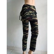 Aleizha Celana Rok Senam - Army