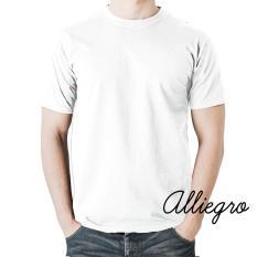 Alliegro Kaos Pria Polos Distro Premium - Kaos Terbaru Keren Murah Tumblr Tee Dewasa Putih