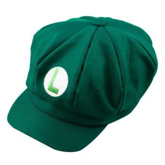 harga Allwin Super Cantik Dari Luigi Mario Bros Cosplay Ukuran Dewasa Kostum Baseball Cap Hat Baru Hijau L Lazada.co.id