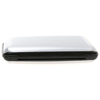 Amart Aluminum Metal ID Credit Card Business Card Case Holder (Silver) - intl
