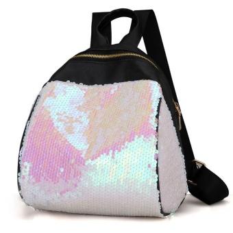 ... Selempang Tas Bahu + Payet Dompet Clutch Harga Spesifikasi. Source · Amart Fashion Ransel Wanita Kasual Kulit Berpayet Beritsleting Kapasitas Besar