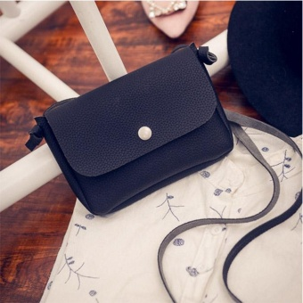 Amart Fashion Women PU Leather Handbag Small Messenger Bags Crossbody Shoulder Bags Clutch Purse - intl