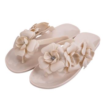 Amart Summer Sweet Girls Slippers Camellia Beach Flip Flops - 2