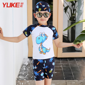 Cari Bandingkan Anak laki-laki membagi berenang baju renang anak baju renang (Biru kartun dinosaurus) (Biru kartun dinosaurus) Periksa Peringkat
