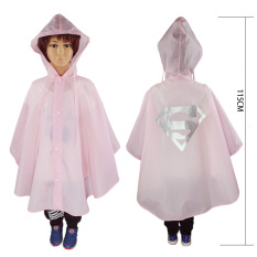Anak Raincoat Role-playing Jubah-Pink
