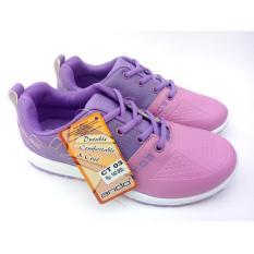 Ando Original - C 03 - Ungu Pink - Sepatu Olah Raga Wanita - Sepatu Lari Wanita