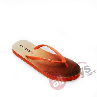 Ando Sandal Jepit Nice Spectrum Ladies - Orange