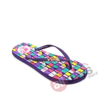 Ando Sandal Jepit Perempuan Barb 807 - Ungu - 2