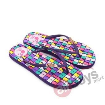 Ando Sandal Jepit Perempuan Barb 807 - Ungu - 5
