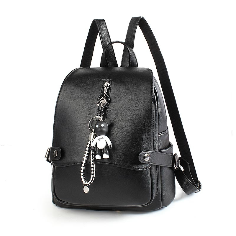 AOYI Elegant Women Backpack Fashion PU Leather Backpack for Teenage Girls Luxury Back .