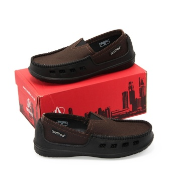 Ardiles Paylon Sepatu Kasual Anak Slip On Moccasin Pasadena (TG) - Coklat Size 34-37 - 2