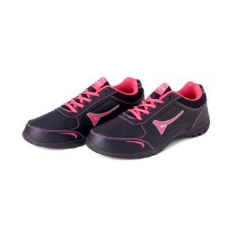Ardiles Women Marimar Running Shoes - Hitam Merah Karmin - 3