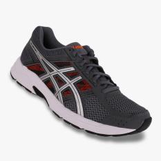 Asics Gel-Contend 4 Men's Running Shoes - Standard Wide - Abu-abu