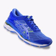 Asics Gel-Kayano 24 Women's Running Shoes - Standard wide - Biru