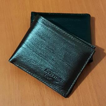 Augustine Dompet Fashion Pria 6 Inchi 1105-06 Motif Serat Kayu - Dark Brown