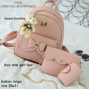 Backpack 3 in 1 Big Ribbon (Backpack / Tas Ransel, Sling Bag / TasSelempang