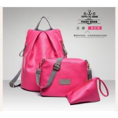 Backpack / Tas Ransel Korean Style 3 in 1 Kimberly (Backpack / Tas Ransel,