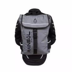 Backpack / Tas Waterproof Rainsol Warna Grey