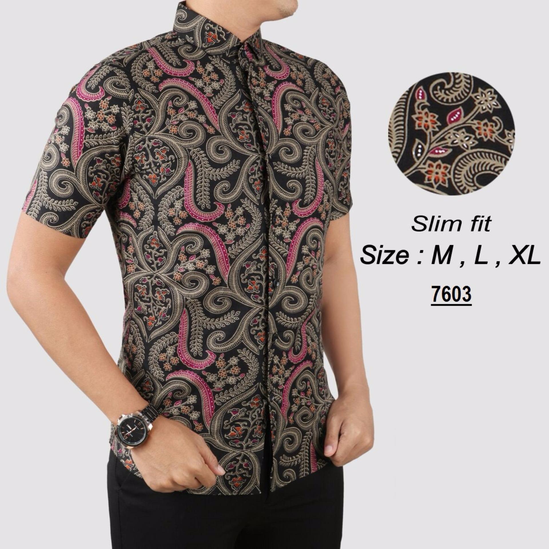 Desain Baju Batik Modern Casual Pria | iia insurance ...