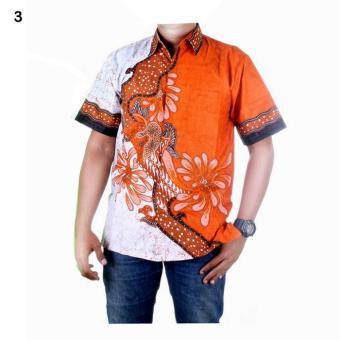 Jual Baju Batik Pria Kemeja Batik Hem Batik Modern Riyan