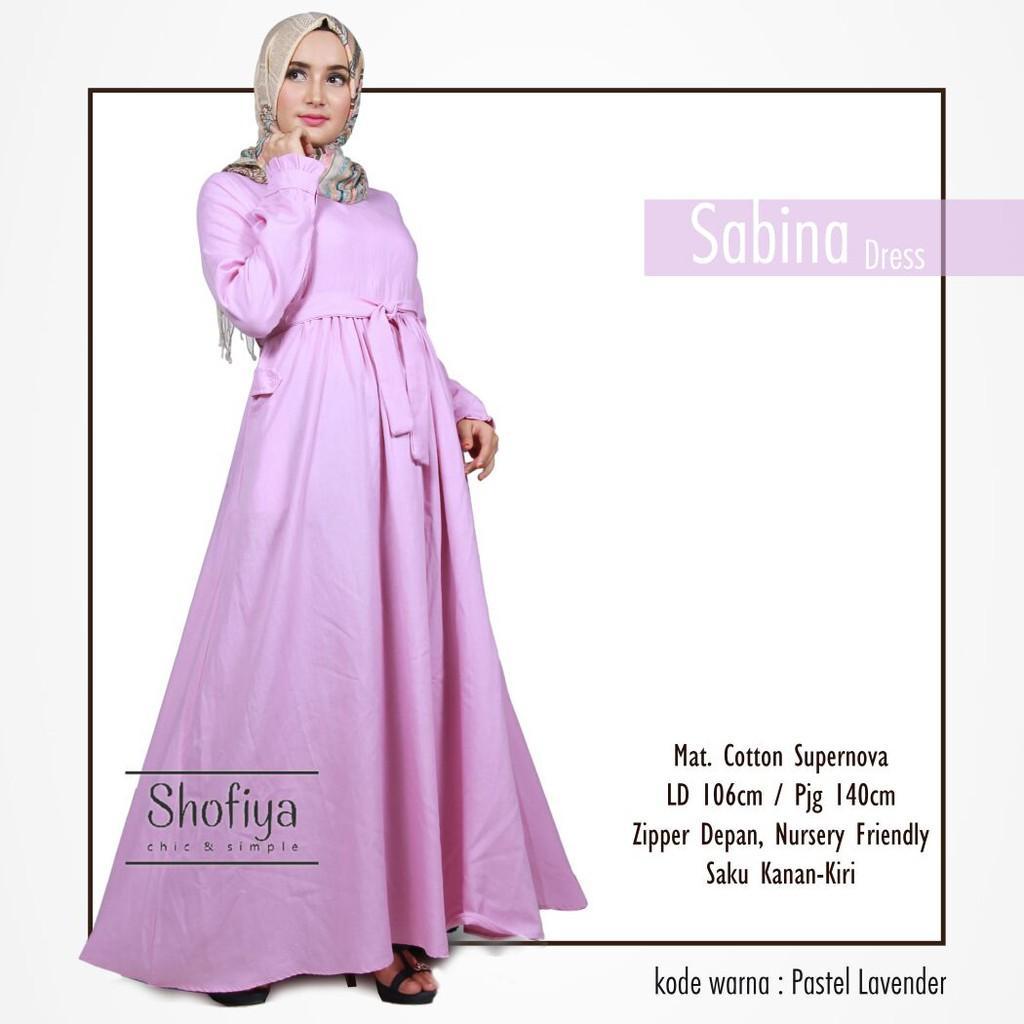 Baju Gamis Sabinna Maxy Dress Muslimah - Daftar Harga Terlengkap ... cd8f5c977a