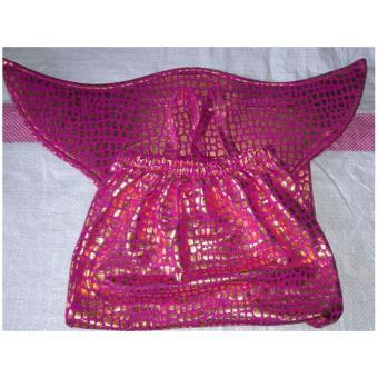 Baju Original Baju Renang Baju Putri Duyung Kostum Mermaid Pakaian Anak Ekor Ikan Pink - 2