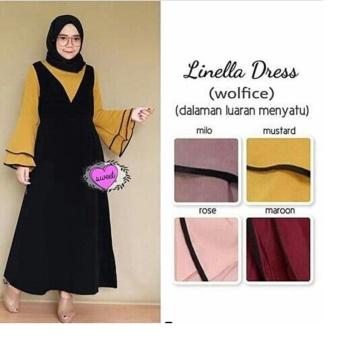 Daftar Harga Baju Original Dress Larisa Maxi Dress Wolfice