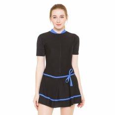 Baju Renang Wanita-HDR-1106-Hitam